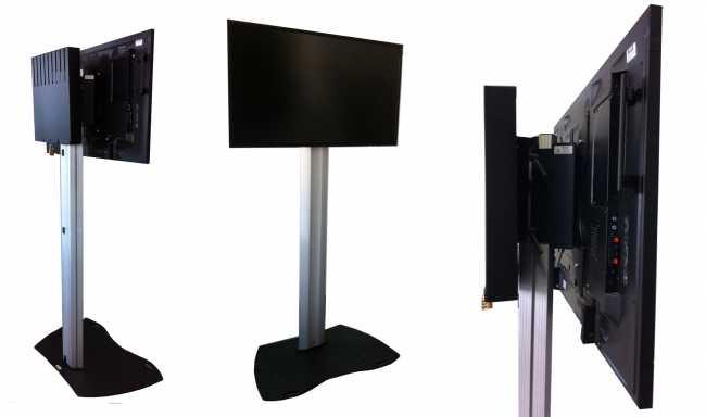 Audipack Ständer Tube 900 Bodenständer für große Bildschirme und Monitore mieten